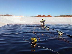Dự án sử dụng màng chống thấm HDPE